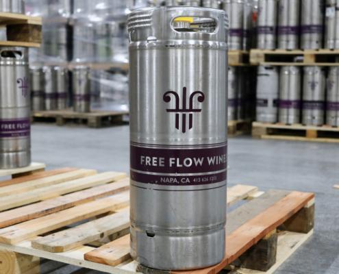 Steel wine keg