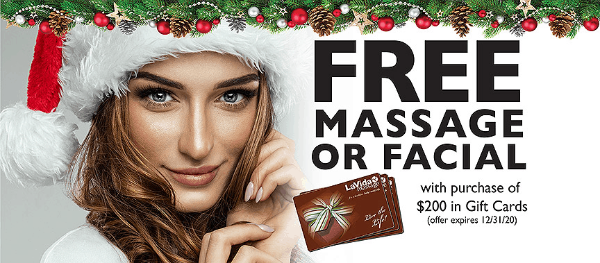 LaVida Massage and Skincare, Skin Care, Advanced Skincare, Facials, Hydrafacial, IPL, PhotoFacial, RF Skin Tightening, LED Therapy, Celluma, Membership, Benefit Savings Plan, 89.95, Holiday, Gift Card Special, Free Massage, Free Massage or Facial, Gift Card, Gifts under $25