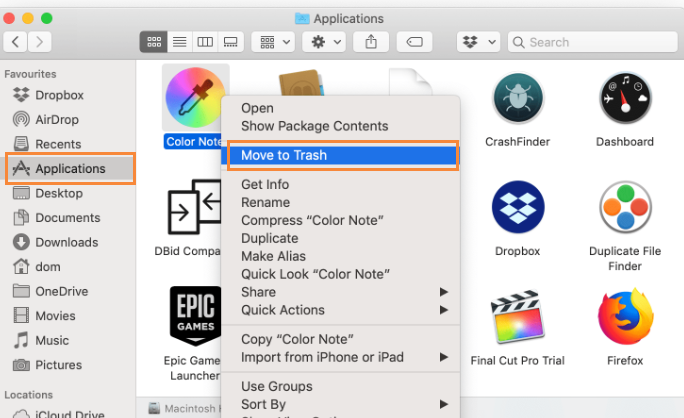 uninstall SafeFinder Mac Search Hijacker on mac