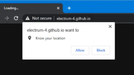 electrum-4.github.io Pop-up