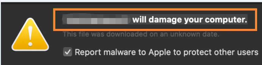 """Operative Machined will damage your computer"" Virus"