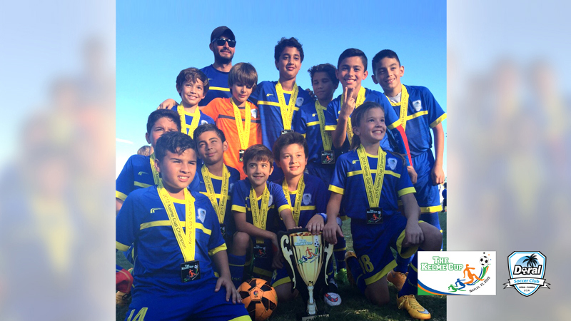 Champion's U11 Blue Coach Kevin Piraquive- Naples 2015