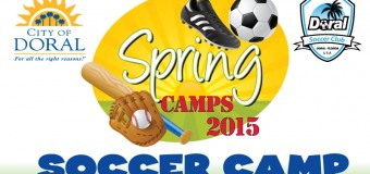 Doral Soccer Club Spring Camp March 23-27, 2015