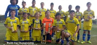 U14 Blue Champion's World Cup 2015