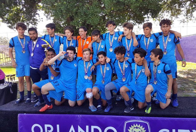 Doral U15 Blue Champion Orlando City Tournament May 2017