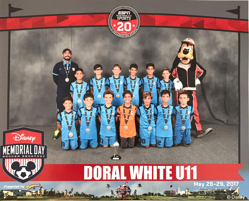 U11 White Finalist Disney Memorial Day 2017