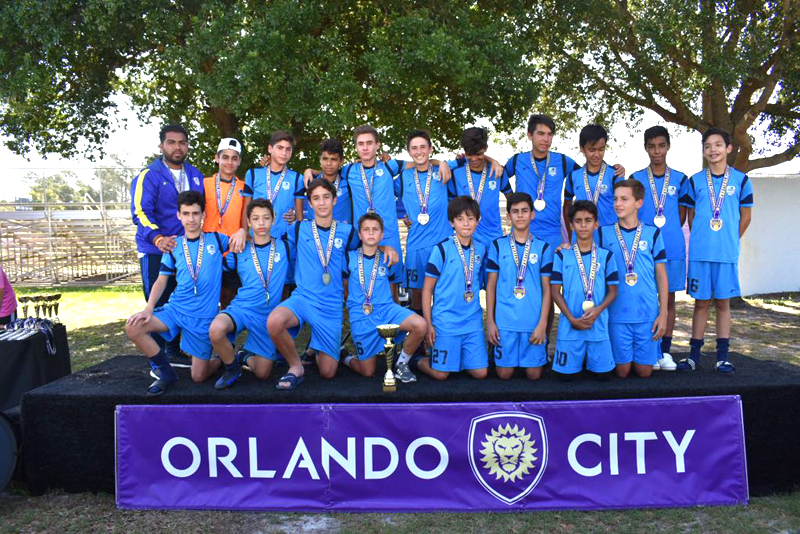 U14 White Champion Orlando City Tournament May 2017