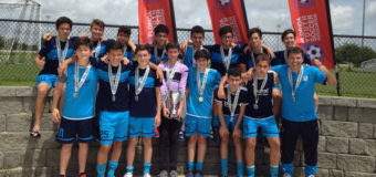 U15 Blue Champion of State Commissioners Cup 2018