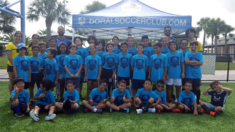 Summer Camp Metro-Zoo-Doral-Soccer
