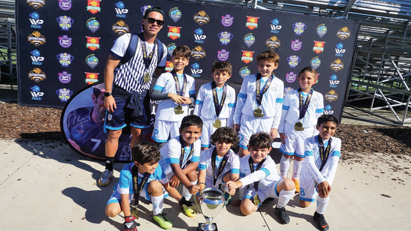 U9 Premier Champion's IVP By FIGO Sarasota Oct 27/28, 2018