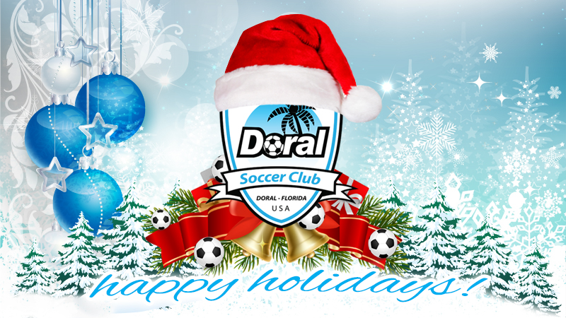 Happy Holidays from Doral Soccer Club!