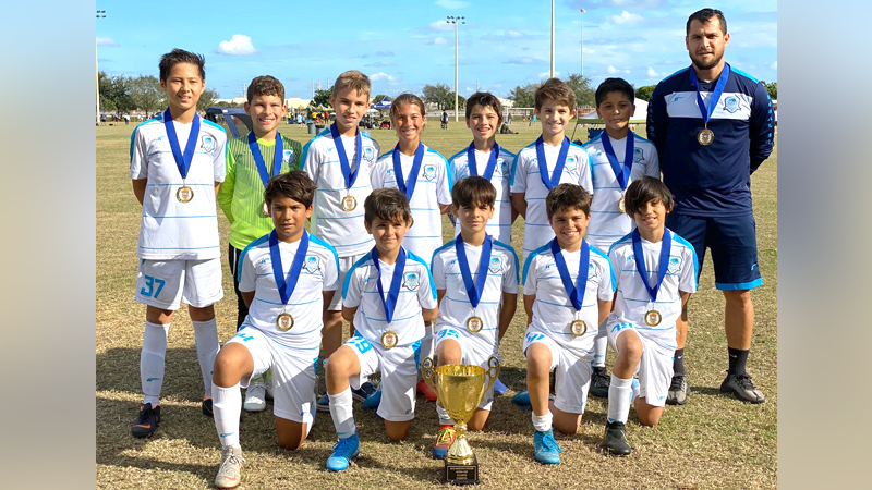 U12 White Champion's Bazooka Acoba Cup December 7/8, 2019
