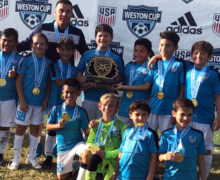 U11 Black Coach Santiago Fayad Champion Weston Showcase February 15-17 2020
