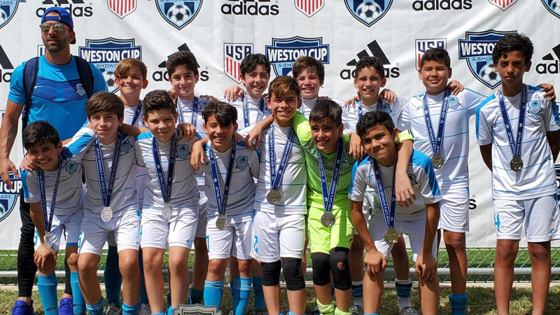 U12 Elite Coach Alfredo Del Toro Finalist Weston Showcase February 15-17 2020