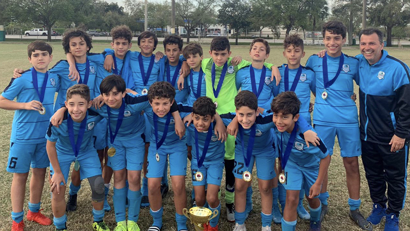 U13 Elite Coach Marcos De Godoy Champion's Miramar Soccer Cup & Showcase March 7 – 8, 2020