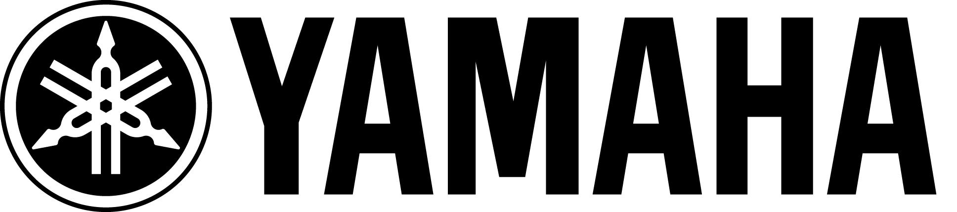 Yamaha Logo (Black on White) Hi Res