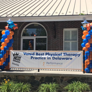 Performance Physical Therapy voted Best Physical Therapist Best of Delaware 2017