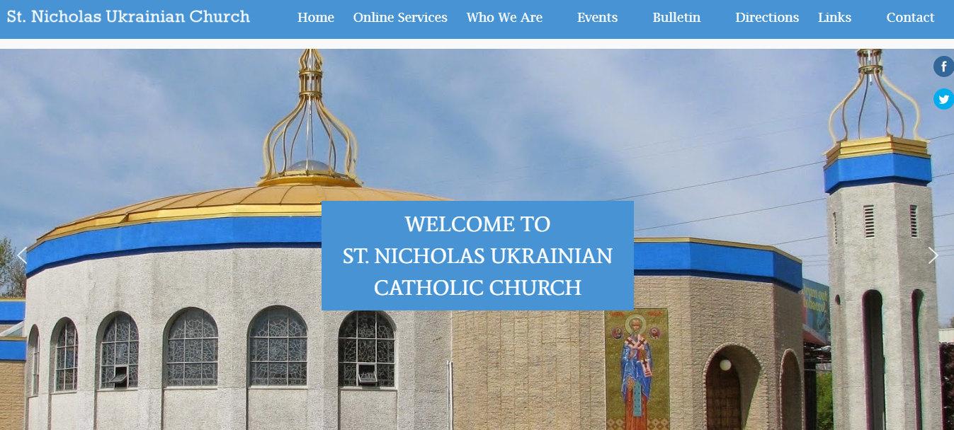 St Nicholas Ukrainian Catholic Church 2020St Nicholas Ukrainian Catholic Church 2020