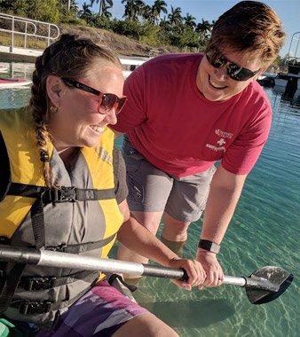 Broward Students love the lake! img