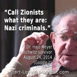 Holocaust survivors compare Zionist policies to those of the Nazis