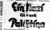 Nazi regime new war of attrition on Jerusalem's Palestinian