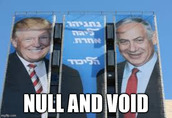 """None of Trump's actions favoring """"israel"""" have any legitimacy"""