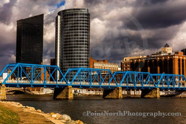 Point North Photography-Jeff Wier-Blue Bridge Grand Rapids