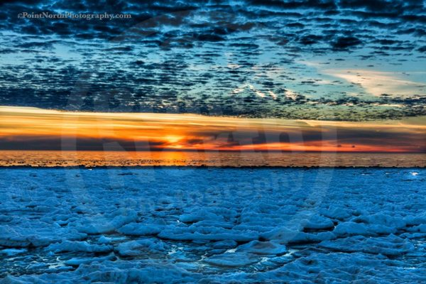 Point North Photography-Jeff Wier-Frozen Sunset