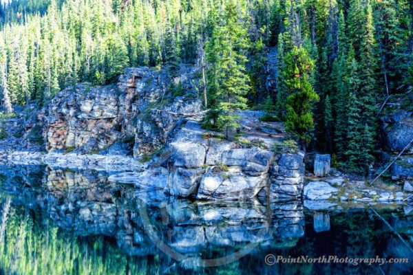 Point North Photography-Jeff Wier-Reflections Mirror Rock Face