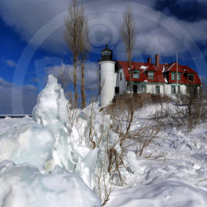 Point North Photography-POINT BETSIE-WINTER