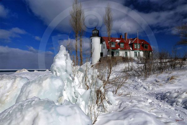 Point North Photography-POINT BETSIE-WINTER