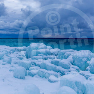 Point North Photography-WINTER BLUES ENCASED IN ICE