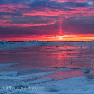Point North Photography-Sunrise on Ice