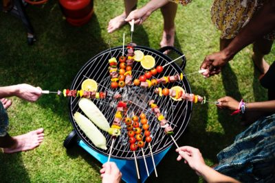grilled fruit, grilled vegetables, grilled seafood, shrimp kabobs, how to grill fruit, how to grill seafood, how to grill vegetables, asian shrimp recipe, physical therapy mankato