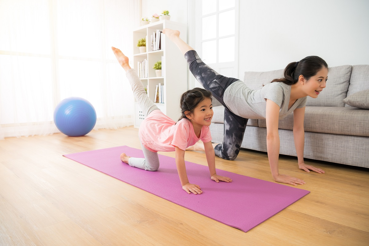 Healthy At-Home Habits to Manage Movement, Diet & Stress