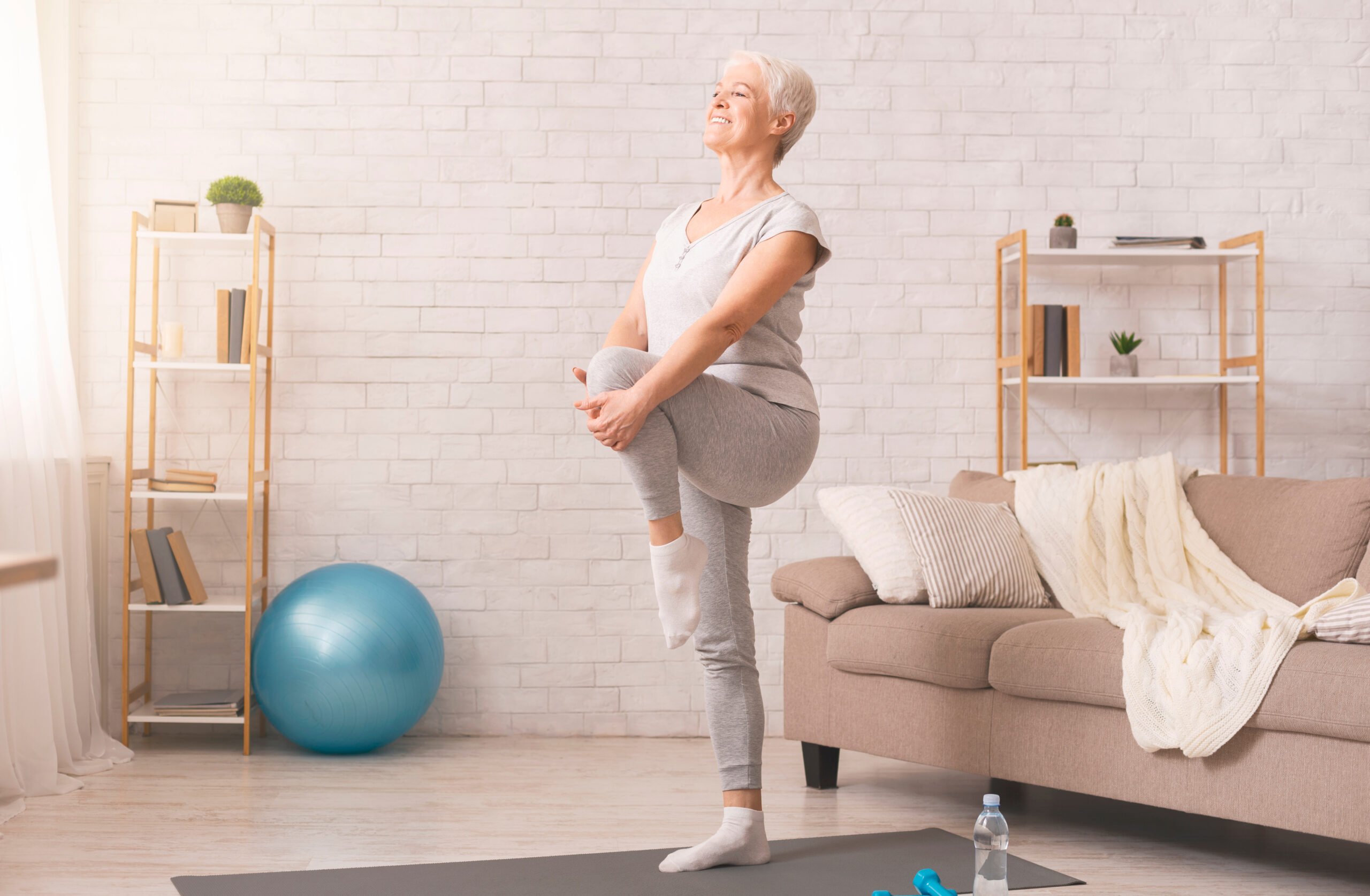 Improving balance for fall prevention
