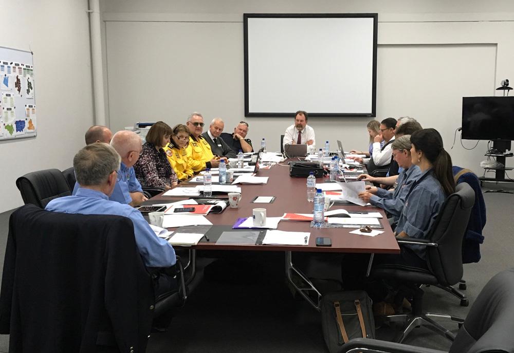 Members of CAVFA meeting in Sydney this week