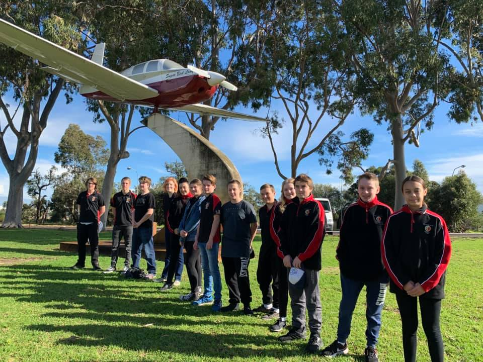 Bunbury Cadets tour RFDS, Rescue 651 and DFES training academy