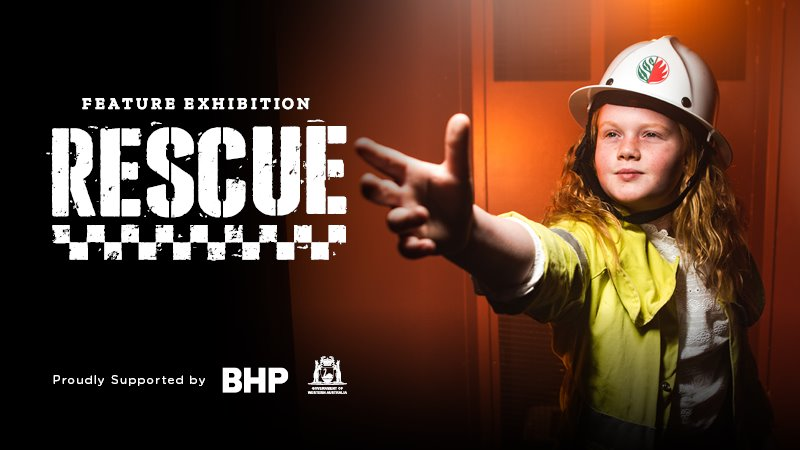 A big thanks to Scitech for Rescue exhibition