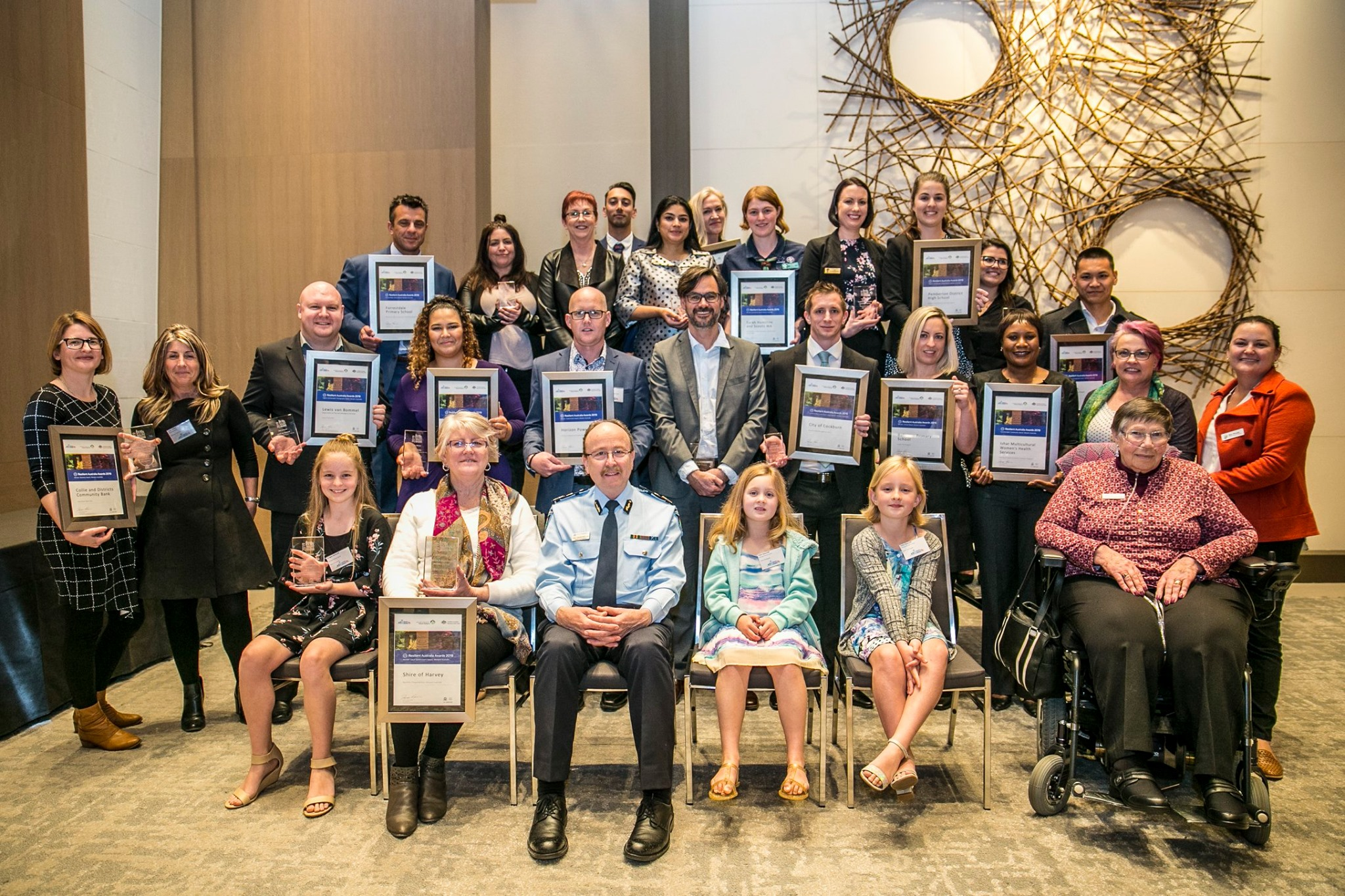 2019 Resilient Australia WA award winners