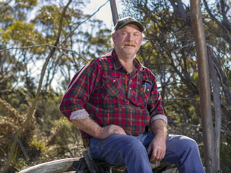 Newdegate farmer David Tonkin, a fire control officer in the town brigade. Picture: Countryman/Jon Gellweiler