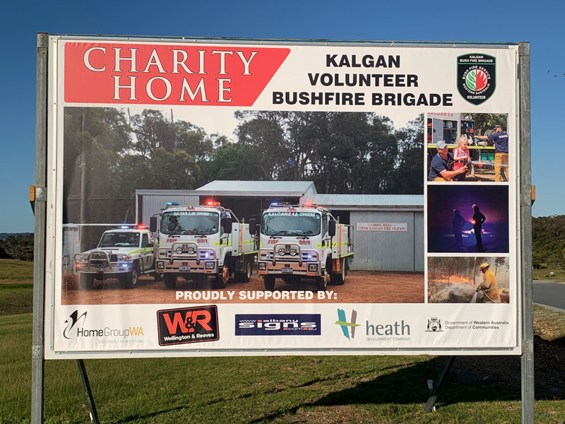 Proceeds from charity home to build new Volunteer Bush Fire Station