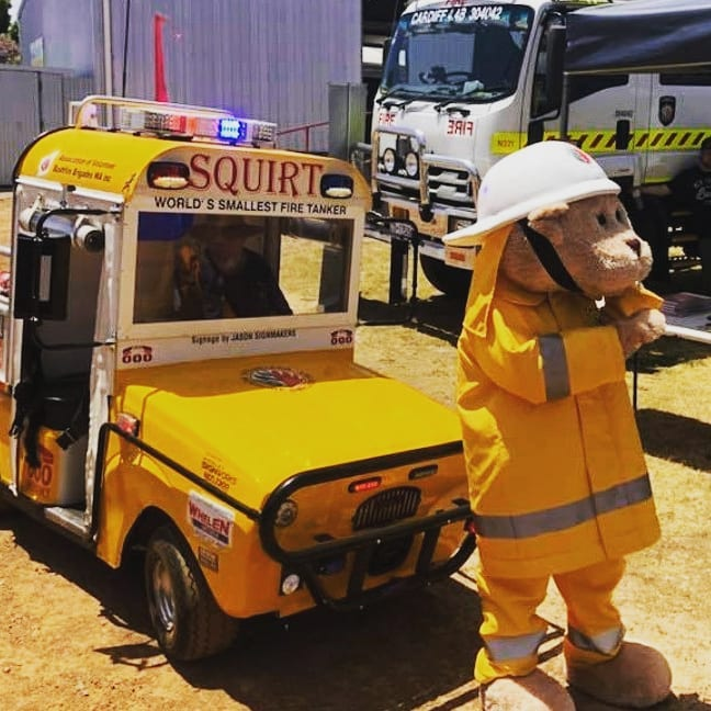 SyS: Wanneroo Fire Support Brigade open day 31/8