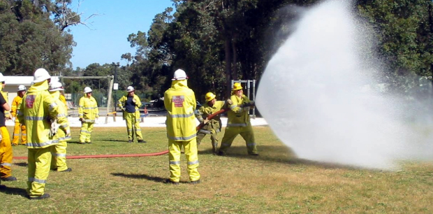 Echo news: From play school to fire school