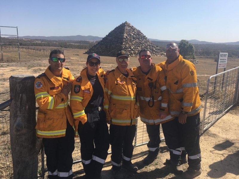 WA Bushfire Volunteers do us proud in Queensland