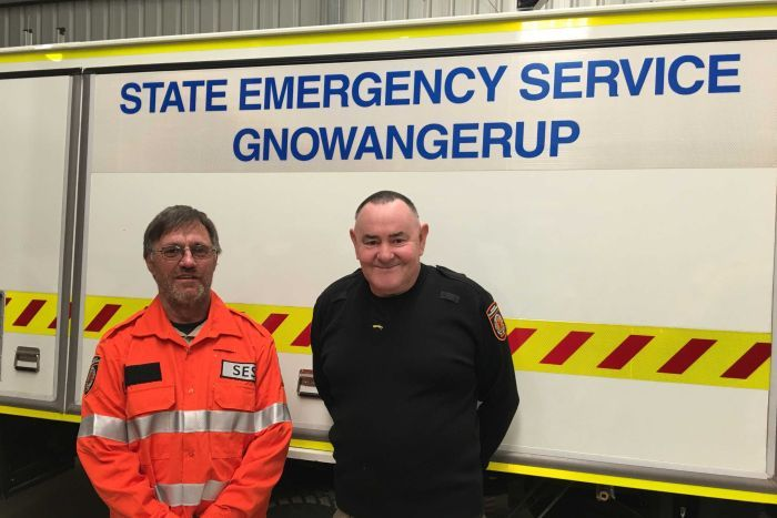 PHOTO: The Gnowangerup SES have now received a trial of new equipment from DFES. (ABC News: Gianni di Giovanni)