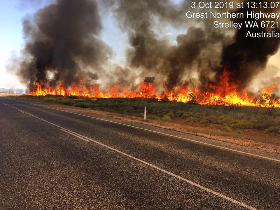 Hedland Bushfire Volunteers pay for more carelessness and stupidity