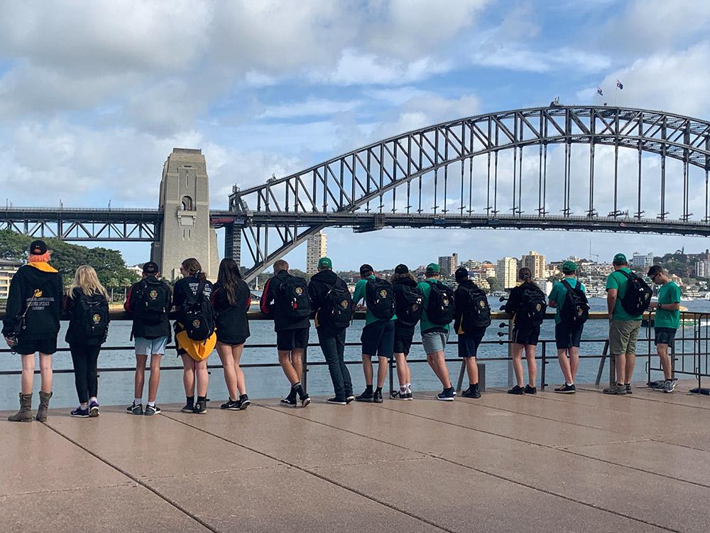 Bunbury and Waggrakine Cadets show NSW some WA fun and skill (and Bushy Bear!)