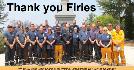 The Apsley Advocate: Thank you Firies
