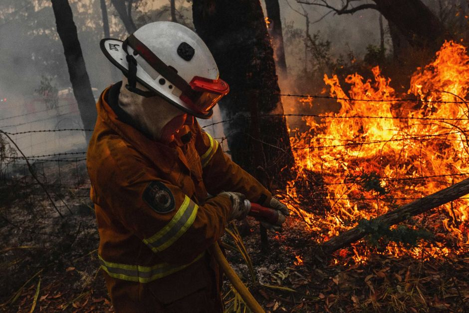 ABC RN: Safeguarding firies' mental health in an 'unprecedented' crisis